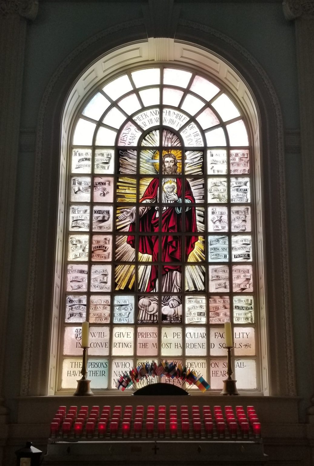 The Sacred Heart Window