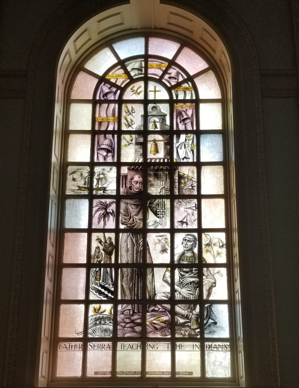 The Father Serra Window